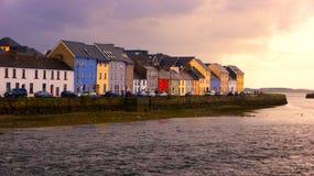 De stad van Galway stock foto