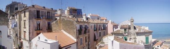 De stad van Gargano Royalty-vrije Stock Afbeelding