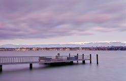 De Stad van Genève Royalty-vrije Stock Foto's