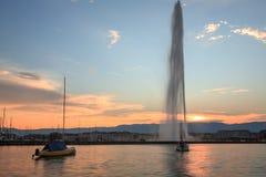 De stad van Genève Royalty-vrije Stock Afbeeldingen