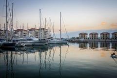De stad van Gibraltar, Gibraltar, het UK Stock Fotografie