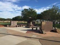De Stad van Gilbert 9/11 Gedenkteken in Gilbert AZ Royalty-vrije Stock Afbeeldingen