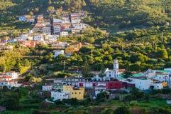 De stad van Gr Tanque, Tenerife Stock Afbeeldingen