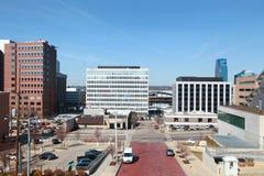 De Stad van Grand Rapids stock afbeeldingen