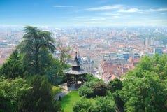 De stad van Graz Stock Afbeeldingen