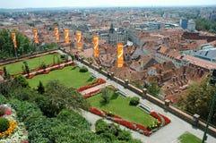 De stad van Graz Stock Fotografie
