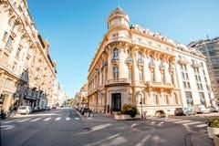 De stad van Grenoble in Frankrijk Royalty-vrije Stock Afbeeldingen