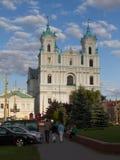 De stad van Grodno Stock Foto