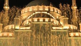 De Stad van Grozny De moskee 'hart van Tchetchenië van Tchetchenië '