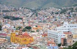 De stad van Guanajuato royalty-vrije stock afbeeldingen