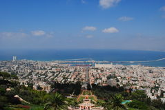 De stad van Haifa Royalty-vrije Stock Afbeeldingen