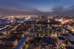 De Stad van Hamburg Stock Fotografie