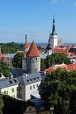 De stad van hanze Stock Foto