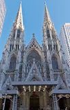 De Stad van heilige Patrick Cathedral New York Royalty-vrije Stock Foto's