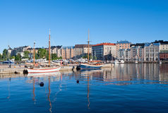 De stad van Helsinki Royalty-vrije Stock Foto
