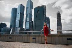 De stad van het centrum Royalty-vrije Stock Foto's