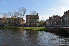 De stad van het landschapsalkmaar van Holland Royalty-vrije Stock Afbeeldingen