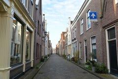 De stad van het landschapsalkmaar van Holland Stock Fotografie