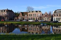 De stad van het landschapsalkmaar van Holland Royalty-vrije Stock Fotografie