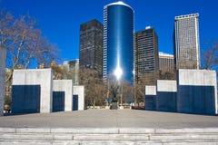 De Stad van het Park van de batterij Royalty-vrije Stock Foto's