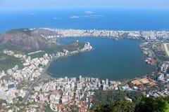 De Stad van het Rio de Janeiro, Brazilië. Stock Afbeeldingen