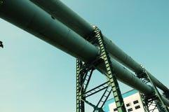 De Stad van het staal Stock Foto's