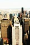 De stad van het stuk speelgoed Stock Fotografie
