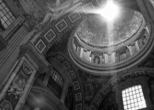 De Stad van het Vatikaan, Vatikaan, de Katholieke Kerk van Rome, Italië, St Peter Stock Fotografie