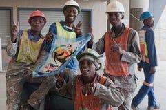 De Stad van het voetbal, Johannesburg Stock Foto's