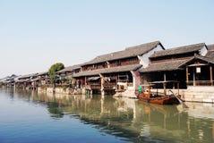 De stad van het water Royalty-vrije Stock Fotografie