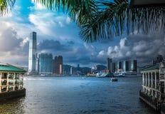 DE STAD VAN HONG KONG | HOOG - KWALITEIT stock afbeeldingen