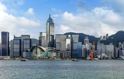 De Stad van Hongkong Stock Afbeeldingen