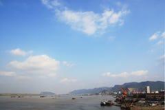 De stad van Huangshi Royalty-vrije Stock Foto's