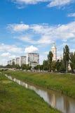 De stad van Iasi Stock Foto's