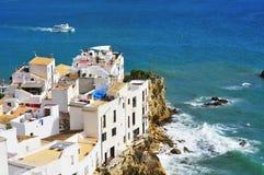 De Stad van Ibiza Stock Afbeeldingen