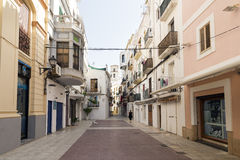 De Stad van Ibiza Stock Foto