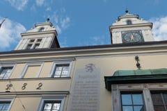 De stad van ingolstadt in Duitsland Royalty-vrije Stock Foto