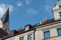 De stad van ingolstadt in Duitsland Stock Foto