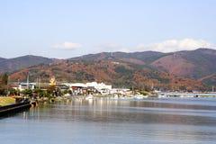 De Stad van Ishinomaki in Japan Stock Afbeelding