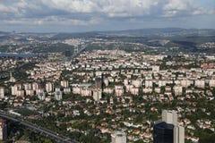 De Stad van Istanboel, Turkije Stock Foto's