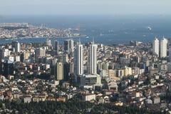 De Stad van Istanboel, Turkije Stock Foto