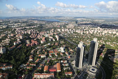 De Stad van Istanboel, Turkije Royalty-vrije Stock Foto's
