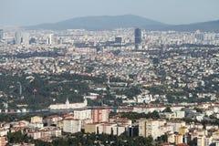 De Stad van Istanboel, Turkije Royalty-vrije Stock Fotografie