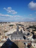 De stad van Italië Vatikaan Royalty-vrije Stock Foto's