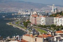 De Stad van Izmir Stock Afbeeldingen