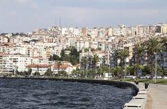De Stad van Izmir Stock Foto's