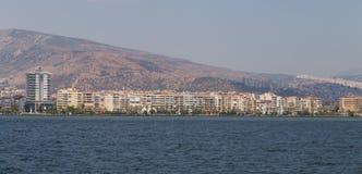 De Stad van Izmir, Turkije Stock Foto's