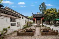 De stad van Jiangsuwuxi Huishan Royalty-vrije Stock Foto