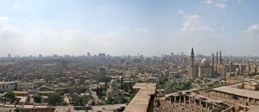 De Stad van Kaïro Stock Foto