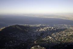 De stad van Kaapstad stock foto